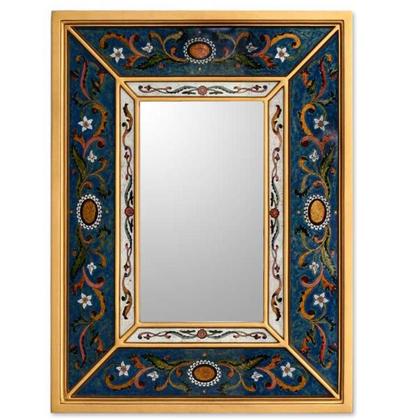 Sunflower Skies Mirror by Novica
