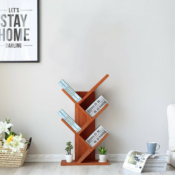 Tolland Geometric Bookcase By Ebern Designs