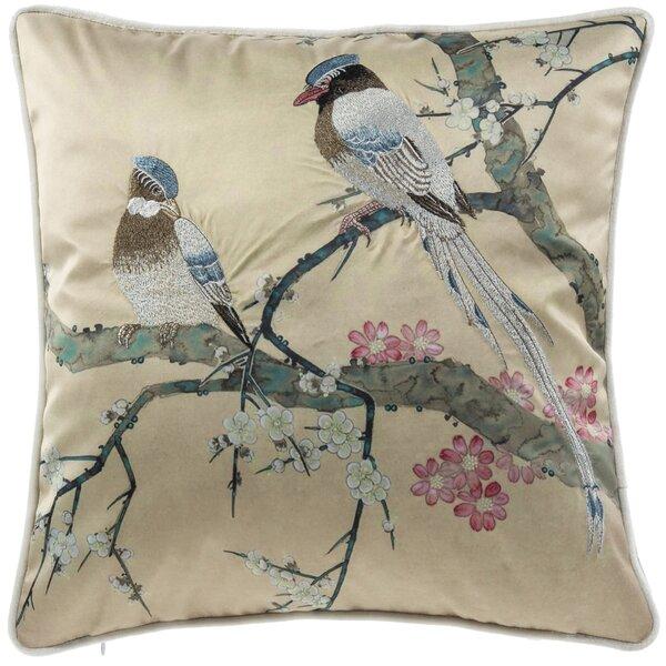 Lamons Love Birds Throw Pillow by Astoria Grand