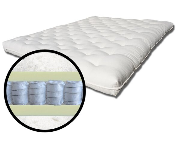 Support Plus 8 Coil Spring Futon Mattress by The Futon Shop