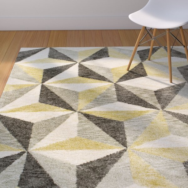 Sterling Ivory Visions Area Rug by Corrigan Studio