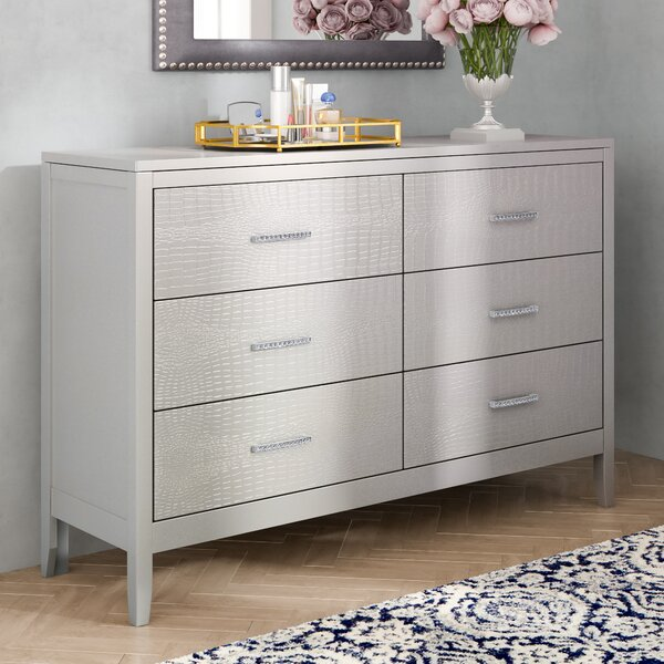 Upham 6 Drawer Double Dresser By Rosdorf Park by Rosdorf Park Best Choices
