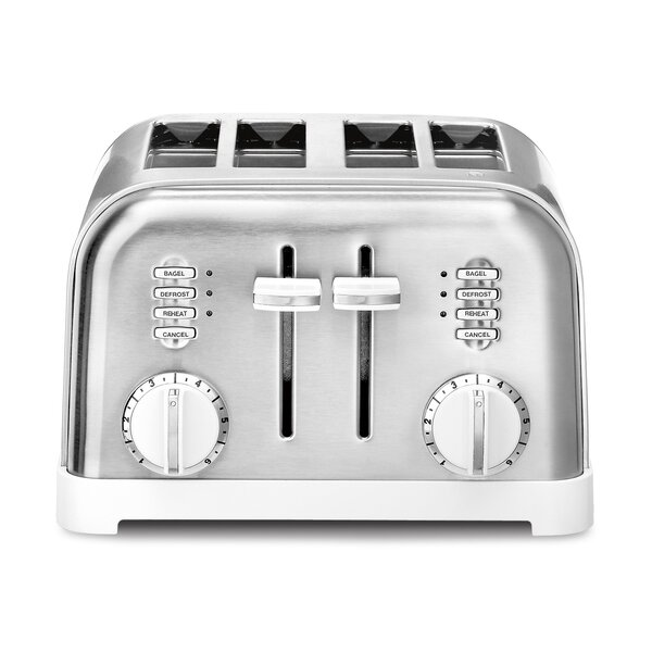 Metal Classic 4 Slice Toaster By Cuisinart.