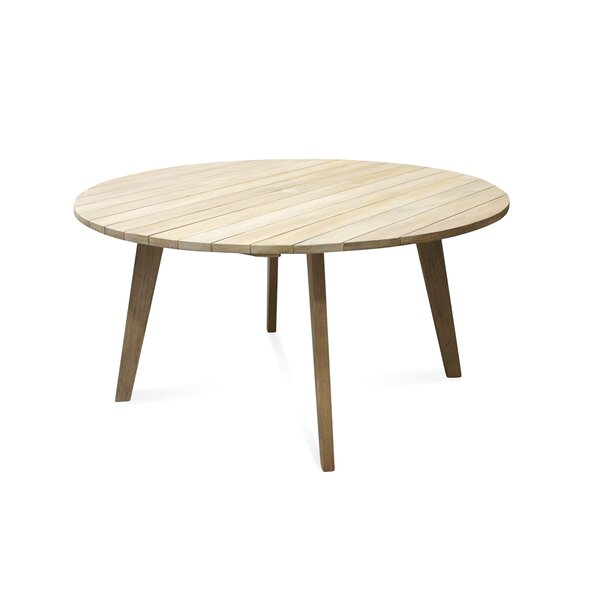 Myers Wooden Dining Table by Bloomsbury Market