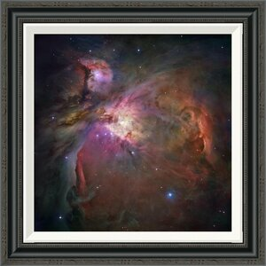 'Orion Nebula' by NASA Framed Photographic Print by Global Gallery