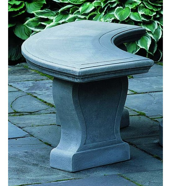 Palladio Cast Stone Garden Bench by Campania International Campania International