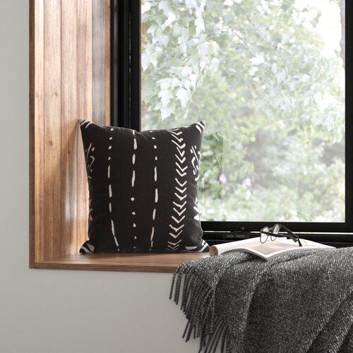 Staudt Cotton Throw Pillow Cover Reviews Allmodern