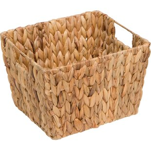Storage Hyacinth Basket  sc 1 st  Wayfair & Water Hyacinth Basket | Wayfair