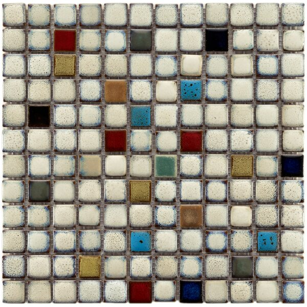 Essentia 12 x 12 Porcelain Mosaic Tile in Glazed Cascade by EliteTile