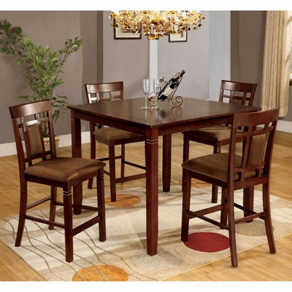 Beese 5 Piece Counter Height Dining Table Set by Bloomsbury Market