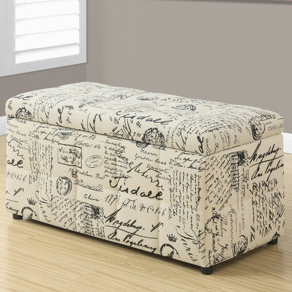 Vintage Storage Ottoman by Monarch Specialties Inc.