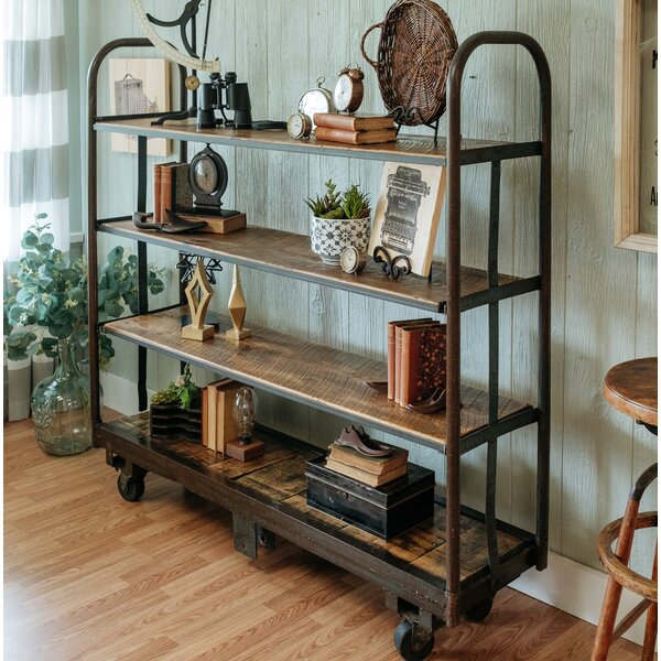 Cart Etagere Bookcase by Napa East Collection