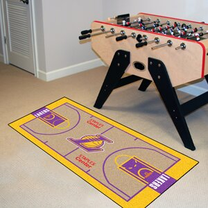 Nba - Los Angeles Lakers Nba Court Runner Doormat By Fanmats.