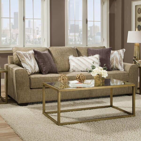 Last Trendy Dallin Sofa by Zipcode Design by Zipcode Design