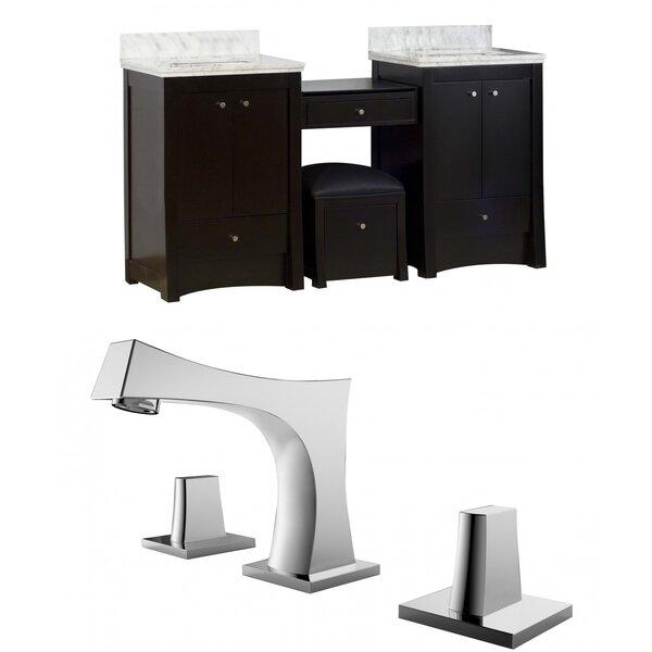 Elite 70 Double Bathroom Vanity Set by American Imaginations