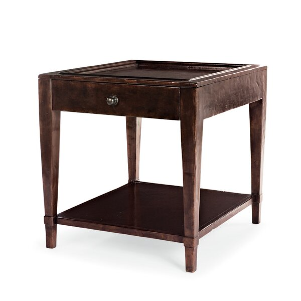 Vintage Patina Tray Table By Bernhardt
