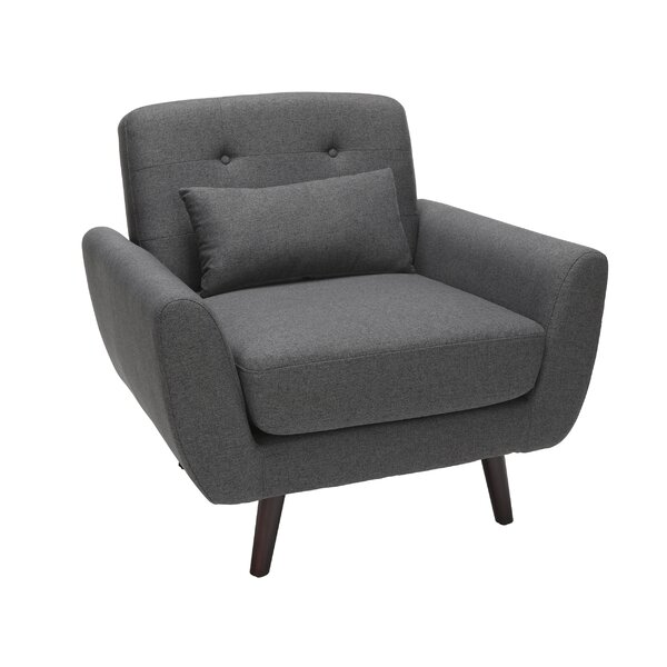 Belliveau Mid Century Modern Armchair by George Oliver
