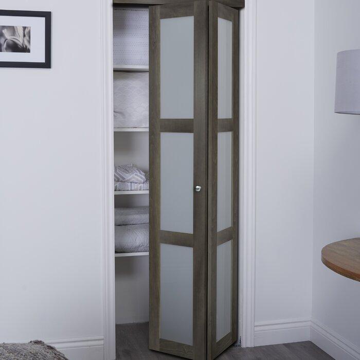Baldarassario 3 Lite 2 Panel Wood Bi Fold Interior Door