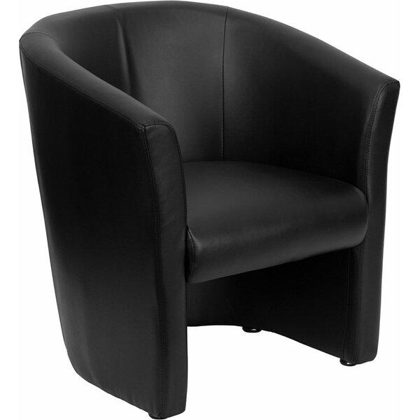 Wheatley Leather Guest Chair by Orren Ellis