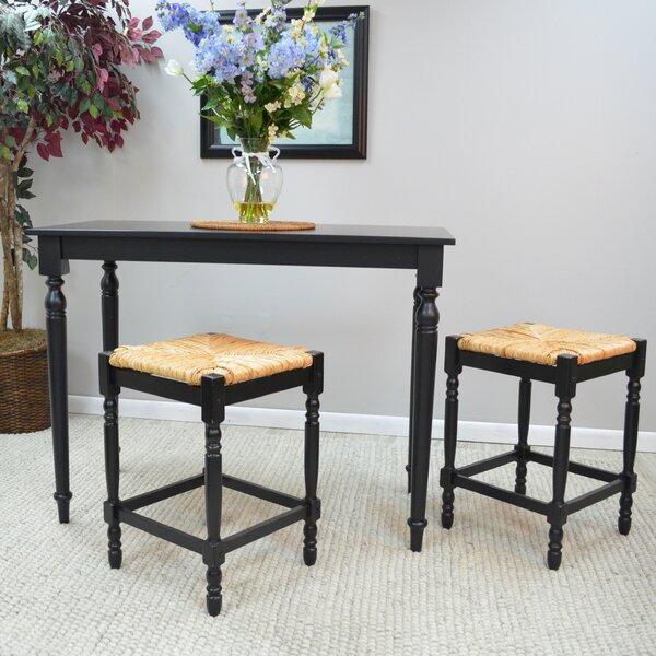 Emilia 3 Piece Pub Table Set by August Grove