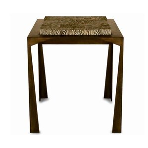 Fish Skin End Table by Serge De Troyer Collection