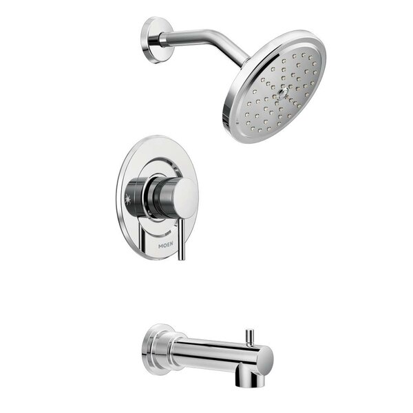 Align Tub and Shower Faucet with Moentrol by Moen