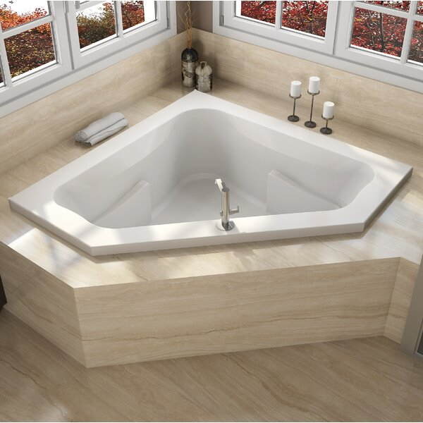 Signature® 60 x 60 Drop In Whirlpool Bathtub by Jacuzzi®