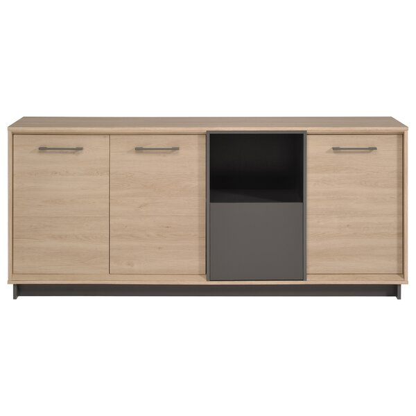 Bradan Contemporary Wood Sideboard by Latitude Run