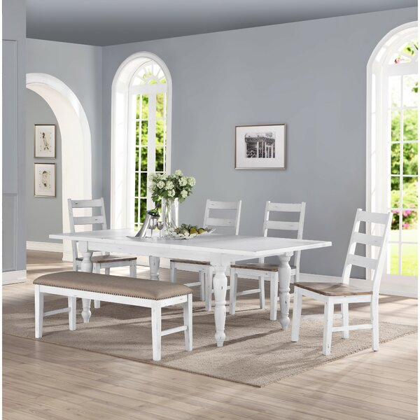 Spurgeon 6 Piece Extendable Dining Set By August Grove New