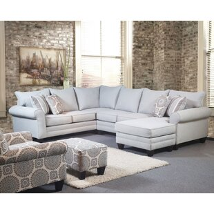 Driggers Sectional Red Barrel Studio