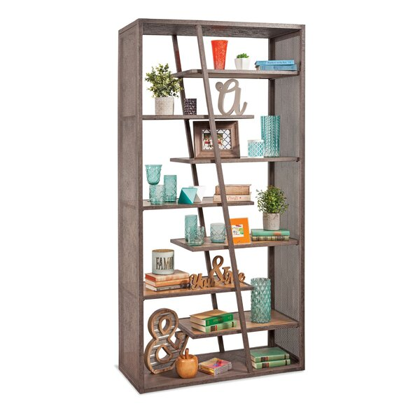 Kerveen Industrial Etagere Bookcase by 17 Stories