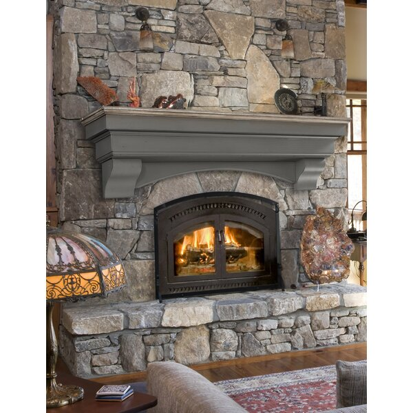 Hadley Fireplace Shelf Mantel by Pearl Mantels