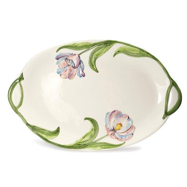 Fiorella Tulip Platter by Intrada Italy