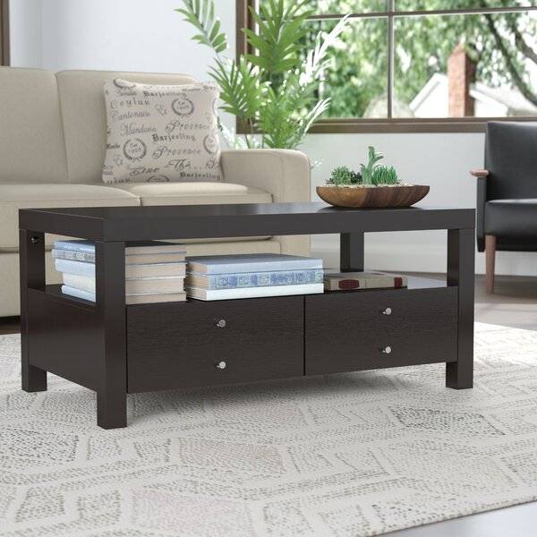 Naperville Coffee Table with Storage by Andover Mills