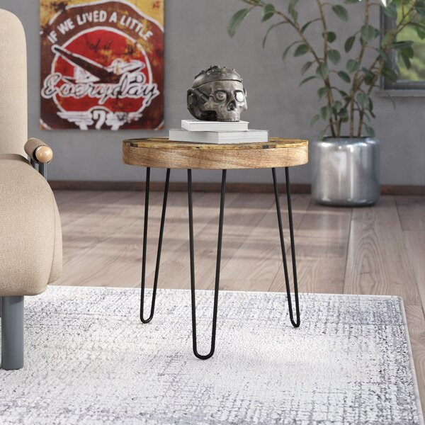 Czajkowski End Table by Williston Forge
