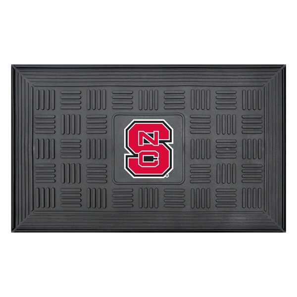 NCAA North Carolina State University Medallion Door Mat by FANMATS