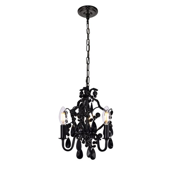 Cadmore 3-Light Candle Style Chandelier by House o
