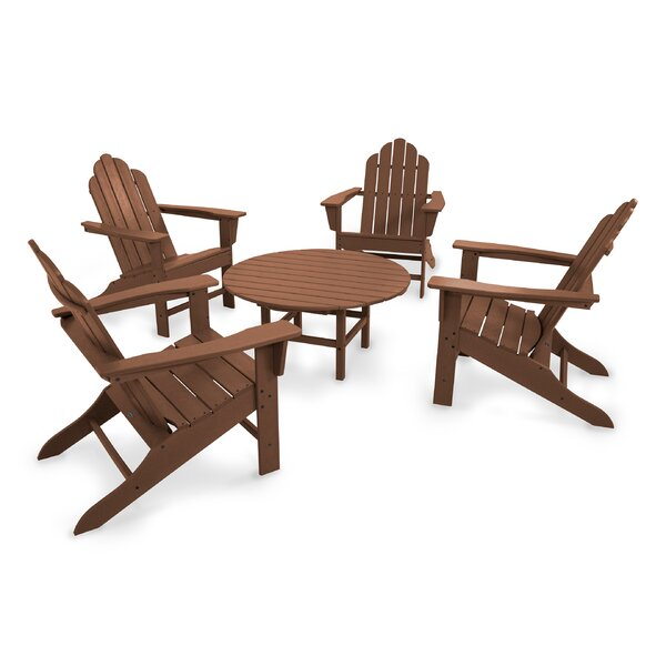 Long Island 5 - Piece Seating Group by POLYWOOD®