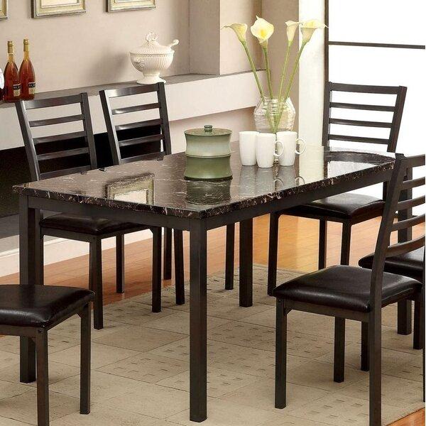 Breyon Dining Table by Red Barrel Studio Red Barrel Studio