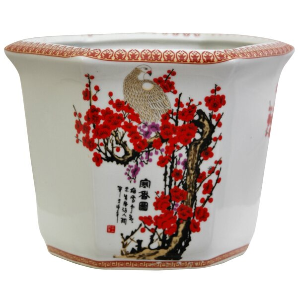 Chinese Porcelain Pot Planter by Oriental Furniture