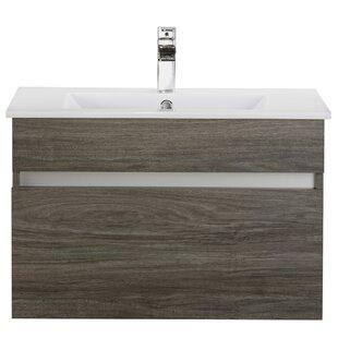 Ivory Floating 30 Single bathroom Vanity by Cutler Kitchen & Bath