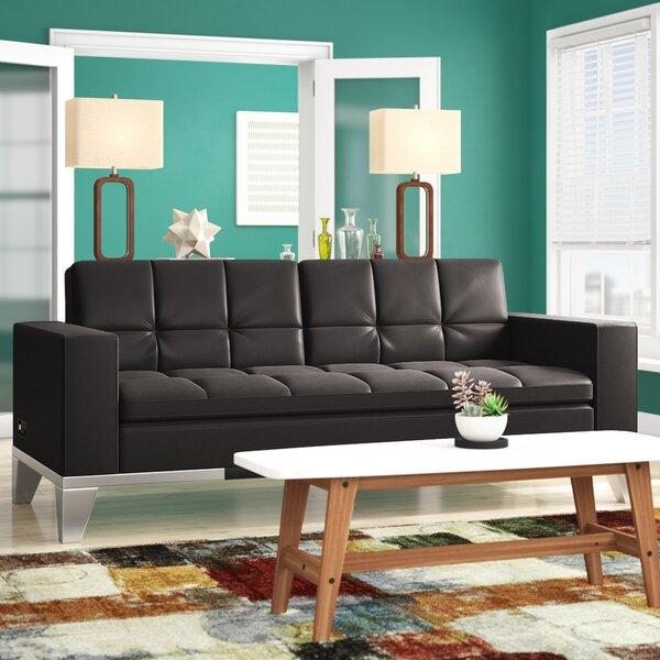 Spartan Convertible Sofa by Wade Logan Wade Logan