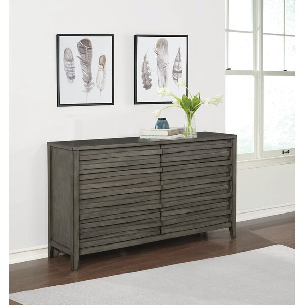 Wingard 6 Drawer Double Dresser by Foundry Select