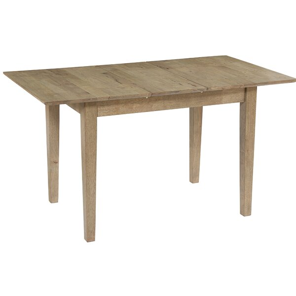 Janiyah Butterfly Extendable Solid Wood Dining Table by Millwood Pines