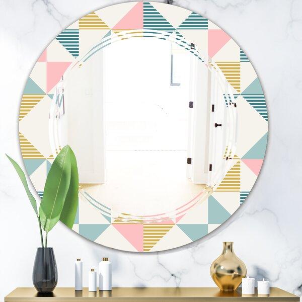 Triple C Diamond II Modern Frameless Wall Mirror