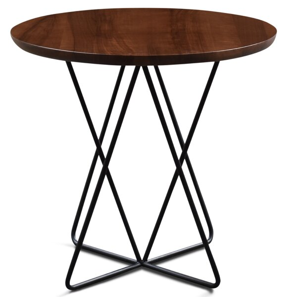 Haggard Milo End Table by Ivy Bronx