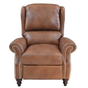 Fairbury Leather Manual Recliner by Red Barrel Studio