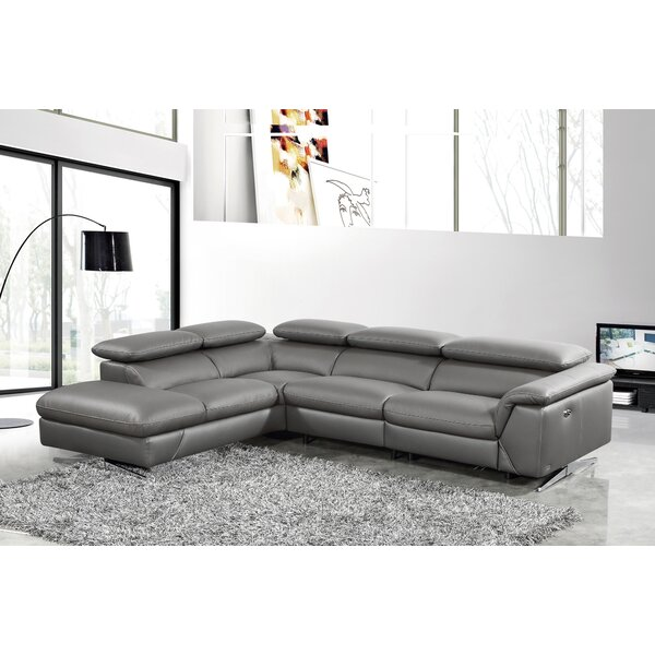 Effendi Left Hand Facing Reclining Sectional by Orren Ellis