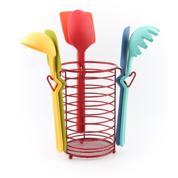 7-Piece Silicone Utensil Set by Fiesta