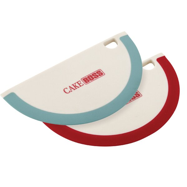 Silicone Bowl Scraper (Set of 2) by Cake Boss